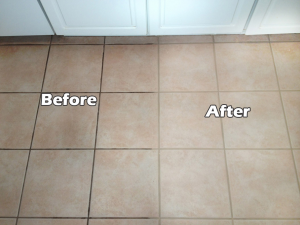 How To Clean Grout Between Tiles In Bathroom