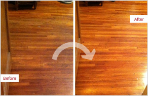 hardwood floors before and after newtons cleaning tilton illinois